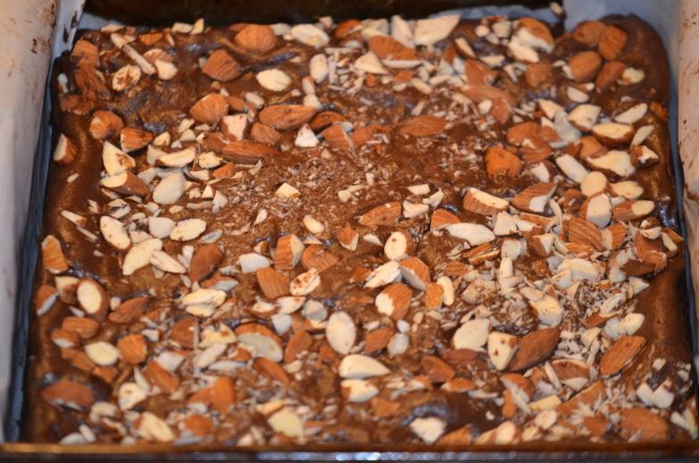 Brownies Cooling On Rack