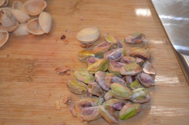 Unfortunately, no shelled pistachios on hand.