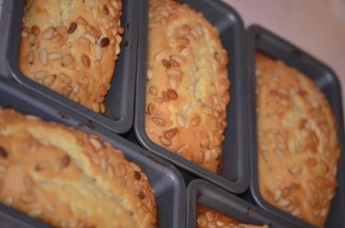 Loaf Pans Cooling