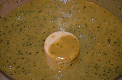 Sauce in Food Processor