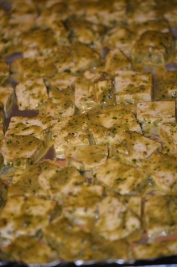 Tofu Ready for the Oven