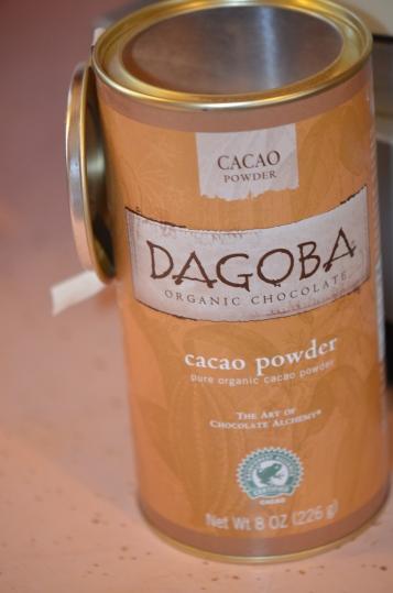 Delicious, organic cocoa.