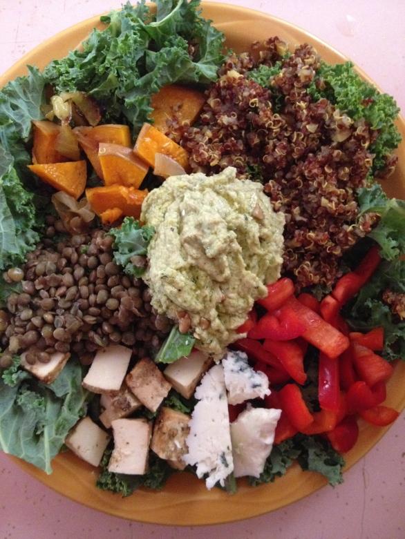 Smorgasbord salad.