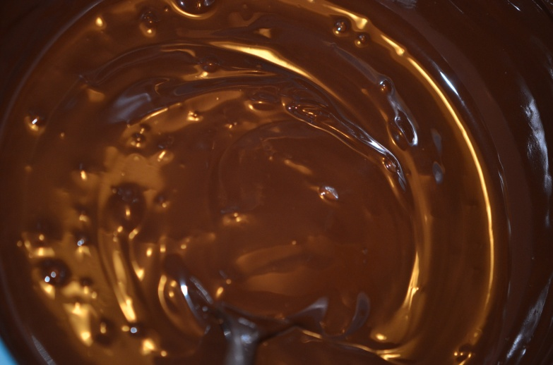 Melted Dark Chocolate for Batter